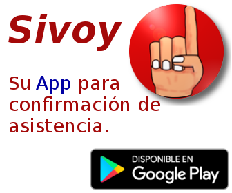 Yo si voy. Disponible en Google Play